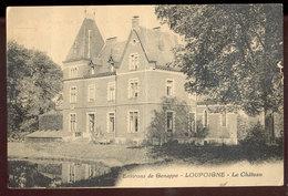 Cpa Loupoigne  1927 - Mont-Saint-Guibert