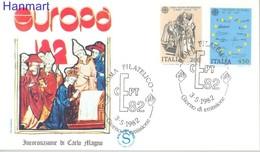 Italy 1982 Mi 1798-1799 FDC ( FDC ZE2 ITA1798-1799 ) - Arts