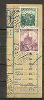 Bohemia & Moravia - Paketkarte, Praga - Horice V Podkrkonost 1939 - Bohemia & Moravia