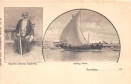 Zanzibar - Topo / 15 - Tiputibo - Sailing Dhow - Tanzanie