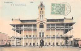 Zanzibar - Topo / 20 - Sultan's Palace - Belle Oblitération - Tanzanie