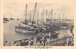 Zanzibar - Topo / 26 - Arab Dhows In Anchorage - Tanzanie