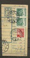 Bohemia & Moravia - Paketkarte, Prostejov - Dvor Kralove 1939 - Bohemia & Moravia