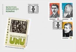 Roemenië / Romania - Postfris/MNH - FDC Schrijvers 2018 - 1948-.... Republieken
