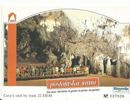 Yougoslavie    Postojnska Jama - Yougoslavie