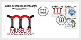 Roemenië / Romania - Postfris/MNH - FDC Museum Van Roemeense Records 2018 - 1948-.... Republieken