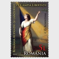 Roemenië / Romania - Postfris/MNH - Revolutionaire Schilderijen 2018 - 1948-.... Republieken