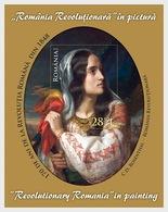 Roemenië / Romania - Postfris/MNH - Sheet Revolutionaire Schilderijen 2018 - 1948-.... Republieken