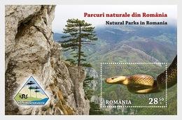 Roemenië / Romania - Postfris/MNH - Sheet Natuurparken 2018 - 1948-.... Republieken