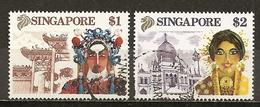Singapour Singapore 1990 Tourisme Obl - Singapore (1959-...)