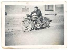 Photo Homme Sur Sa Moto   ( Modèle à Identifier ), Soldat - Photos