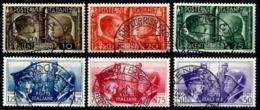 Italia Nº 432/37 En Usado - 1900-44 Victor Emmanuel III