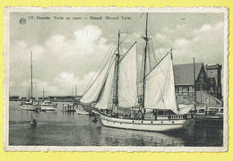 * Oostende - Ostende (Kust - Littoral) * (Albert, Nr 237) Yacht Au Repos, Moored Yacht, Bateau, Voilier, Boat, Quai, Old - Oostende