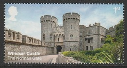 GB 2017 Windsor Castle - The Norman Gate 1st Multicolored S G.3922 ** MNH - Ongebruikt