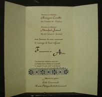 FaPa. 1. Faire-part De Mariage De 1977 à Loverval - Wedding