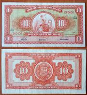 Peru 10 Soles De Oro 1963 - Pérou