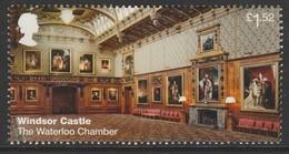 GB 2017 Windsor Castle - The Waterloo Chamber £1.52 Multicolored S G.3924 ** MNH - Ongebruikt