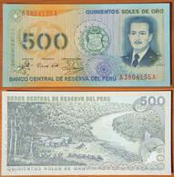Peru 500 Soles De Oro 1976 UNC - Pérou