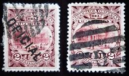 1897 Uruguay Mi 118, Mi D63 . Theatre - Solis Theatre Overprinted - Uruguay