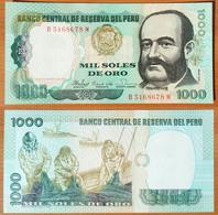 Peru 1000 Soles De Oro 1981 UNC - Pérou