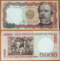 Peru 5000 Soles De Oro 1985 UNC - Peru