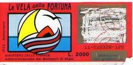 B 2352 - Gratta E Vinci, La Vela Della Fortuna - Lottery Tickets