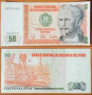 Peru 50 Intis 1987 UNC - Pérou