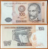 Peru 100 Intis 1987 UNC - Pérou