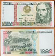 Peru 1000 Intis 1988 UNC - Pérou