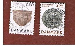 DANIMARCA (DENMARK)  -   SG 971.973  -  1992 NATIONAL MUSEUM   - USED ° - Usati