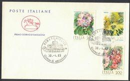 E27 ITALIA - FDC CAVALLINO 1983 - FIORI D'ITALIA - ANNULLO FILATELICO - F.D.C.