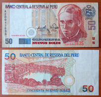 Peru 50 Nuevos Soles 1999 VF - Pérou