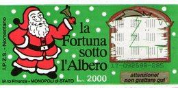 B 2353 - Gratta E Vinci, La Fortuna Sotto L'Albero, Natale - Lottery Tickets