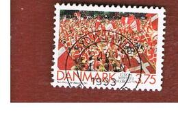 DANIMARCA (DENMARK)  -   SG 983  -  1992  EUROPEAN FOOTBALL CHAMPION   - USED ° - Danimarca