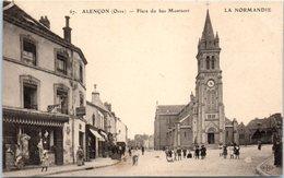 61 - Alençon -- Place Du Bas Montsort - Alencon