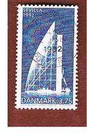 DANIMARCA (DENMARK)  -   SG 984  -  1992  EXPO '92, SEVILLE  - USED ° - Usati