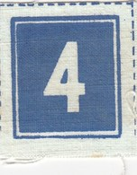 Patch Scout Number 4. Yugoslavia Scouting  Nombre Numero - Scoutisme