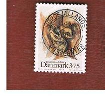 DANIMARCA (DENMARK)  -   SG 991  -  1992  NEWS DANISH BIBLE  - USED ° - Usati