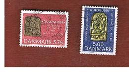 DANIMARCA (DENMARK)  -   SG 994.995  -  1993  DANISH TREASURE TROVE (COMPLET SET OF 2)  - USED ° - Danimarca