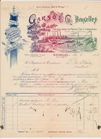 Factuur / Brief  Bruxelles / Brussel 1894 - Garso & Cie. - Typo Et Lithographiques - Belgium
