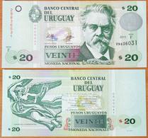 Uruguay 20 Pesos 2011 AUNC - Uruguay