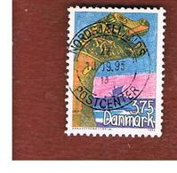 DANIMARCA (DENMARK)  -   SG 1009  -  1993 CHILDREN'S STAMP DESIGN COMPETITION  - USED ° - Usati