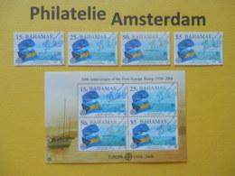 Bahamas 2005, 50 YEARS EUROPA CEPT 1956-2006, Mi 1224-27, + Bl. 105, ** - Europa-CEPT