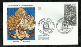 PHILIPPE AUGUSTE . 10 NOVEMBRE 1967 . BOUVINES . - FDC
