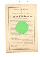 Faire=part De Décès De Mde Léopoldine RUWET ép. De Victor Demarteau  - XHAWIRS ( Xhendelesse ) 1899 (xh) - Décès
