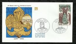 SAINT - LOUIS . 10 NOVEMBRE 1967 . PARIS . - FDC