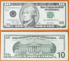USA 10 Dollars 2003 L12 - Billets De La Federal Reserve (1928-...)