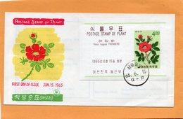 South Korea 1965 FDC - Corea Del Sud