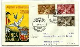 Guinea Española Nº 373/75 En Sobre - Guinea Española