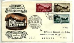 Guinea Española Nº 347/49 En Sobre - Guinea Española